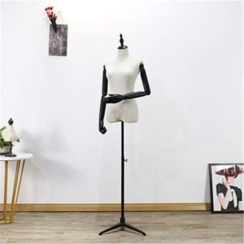 ショーダミー衣料品店モデルの小道具女性のドライクリーナー、人民服を表示プラスチックARMとの結婚式のマネキンスタンド モデル人形 (Color : A, Size : 120-182CM)