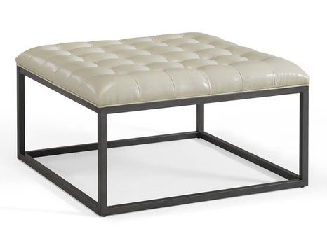 Amazon.com: Best Home Healy Cream Leather Tufted Ottoman Coffee Table:  Kitchen U0026 Dining