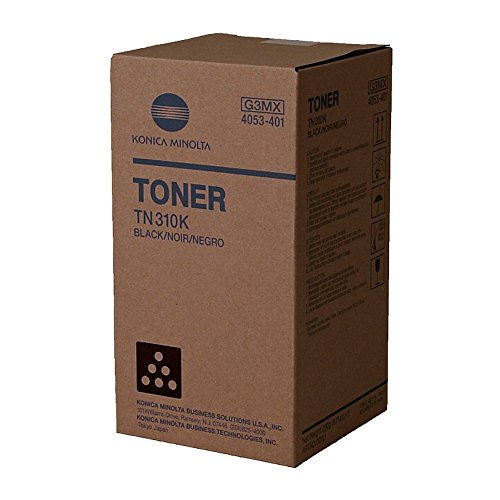 Price comparison product image KONICA MINOLTA 4053401 Black Original Toner (11,500 Yield)