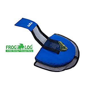 Swimline FrogLog Animal Saving Escape Ramp for Pool, Blue, One Size