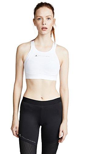 adidas Stella McCartney Women's Performance Essentials Bra, White, Small