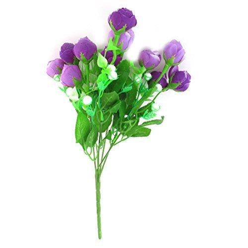 eDealMax Decor Bouquet Flower Multi Schiuma Stame Viola artificiale Festa di ()