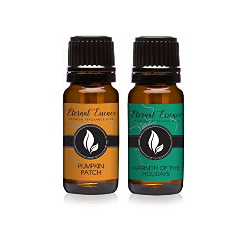 Pair (2) - Pumpkin Patch & Warmth of The Holidays - Premium Fragrance Oil Pair - 10ml ()