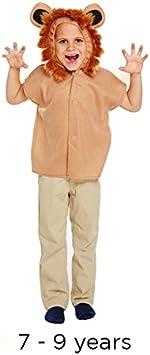 Disfraz de león de jungla salvaje y zoo, para niños, diseño de ...