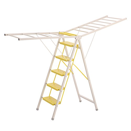 ZXQZ Step Stool Home Floor Type Folding Ladder Multifunction
