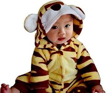 9815d6e2c3bac ベビー 赤ちゃん 着ぐるみ コスチューム トラ baby 新生児 ベビーウェア 80cm