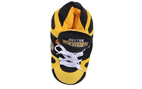 Boston Comfy Happy Feet Feet Mens and Slippers Womens Sneaker Bruins qBYBO7rnw