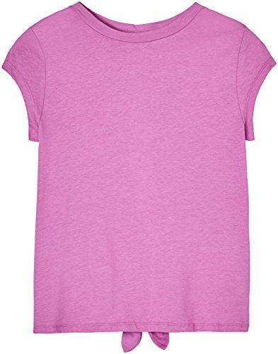 FIND Camiseta con Abertura y Lazada para Mujer Morado (Orchid)