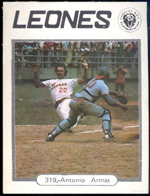 Amazon.com: 1977 Topps Venezuelan (Baseball) card#319 Tony ...