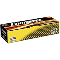 Industrial Alkaline Batteries, 9V, 12/Box, Sold as 2 Box, 12 Each per Box