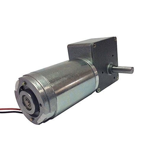 BEMONOC Reversible DC 24V Extramly High Speed 200RPM Worm Gear Motor with Metal Gearbox for Electric Industry Machine (Worm Drive Motors)