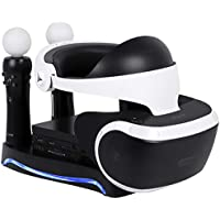 Puroma Upgraded 4-in-1 Charge & Display Stand for PS VR...