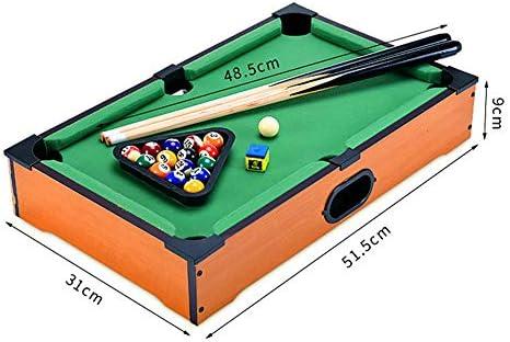 Mini tablero piscina Set Mini mesa de billar escritorio miniatura ...