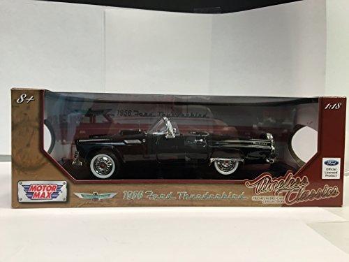 Motormax 1:18 1956 Ford Thunderbird Convertible Toy