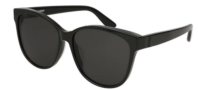 Saint Laurent Unisex-Erwachsene Sonnenbrille SL M16 001, 1/Grey, 55