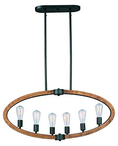 (Bodega Bay 6-Light Pendant W/Bulb)