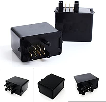 7-Pin LED Indicator Flasher Relay for GSXR 600 750 1000 GSF 650 1200 SV
