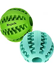 Best Dog Teething Toys Balls Durable Dog IQ Puzzle Chew Toys for Puppy Small Large Dog Teeth Cleaning/Chewing/Playing/Treat Dispensing