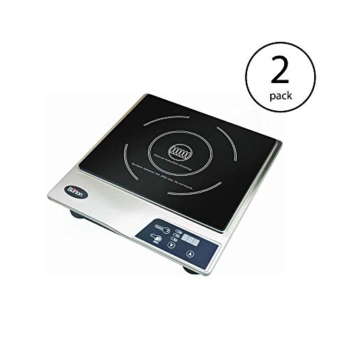 Max Burton Portable Stainless Steel Deluxe Countertop Induction Cooktop Burner (2 Pack) by Sunbeam (Image #7)
