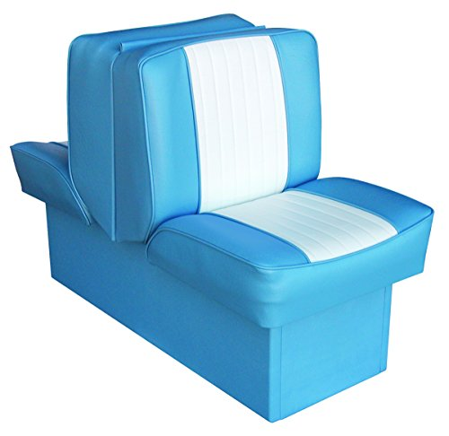 Wise 8WD707P-1-663 Deluxe Lounge Seat (Light Blue/White)