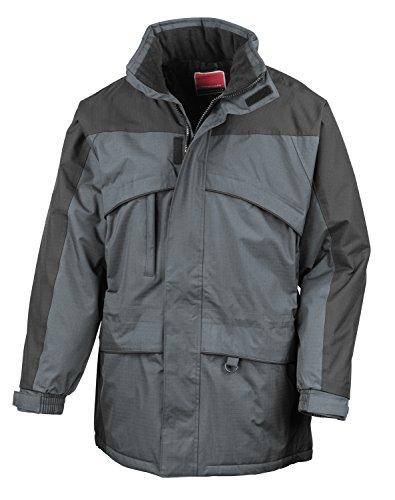 A-Seneca RT98 Hi-Activity Winter Jacket Waterproof, Windproof Grey - Anthracite - Black