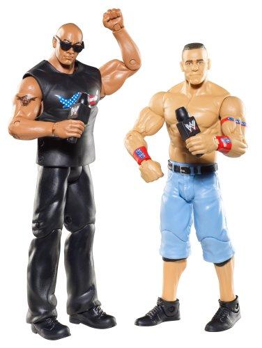 WWE Battle Pack: John Cena vs. The Rock Figure 2-Pack Series 15 by WWE