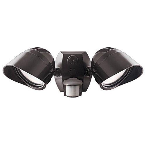 RAB Lighting LED Smart Bullet Flood 2x12W Adjustable Dual Heads Bronz