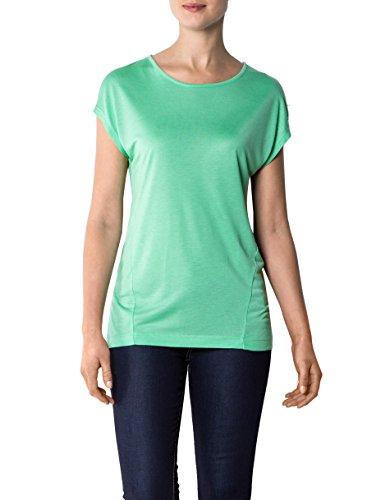 Daniel Hechter Damen T-Shirt Modal Shortsleeve Unifarben, Größe: 36, Farbe: Grün