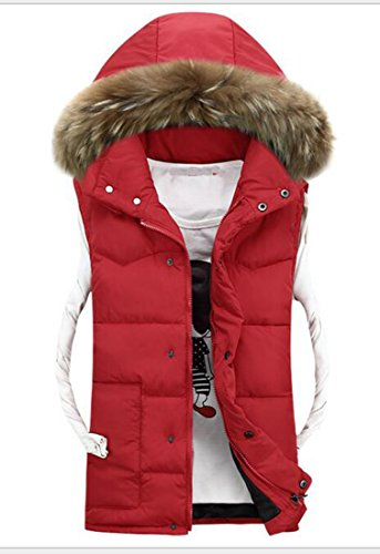 Quilted Down Vest Jacket - 5