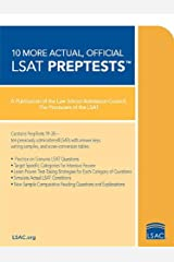 10 More, Actual Official LSAT PrepTests: (PrepTests 19–28) (Lsat Series) Paperback