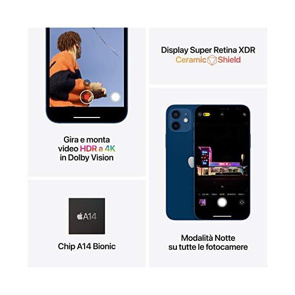 Novità Apple iPhone 12 mini (128GB) - Azzurro 5