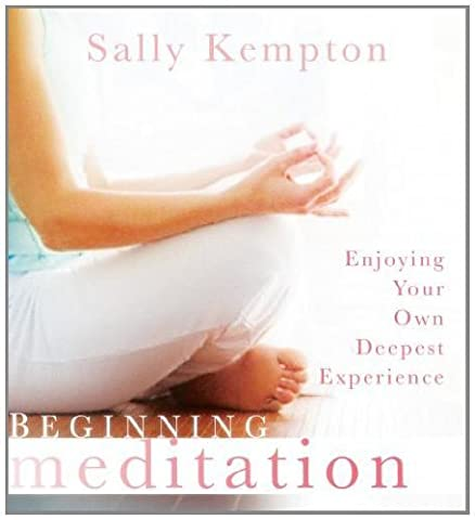 Beginning Meditation: Enjoying Your Own Deepest Experience by Sally Kempton (2011-01-28) (Sally Kempton Meditation)