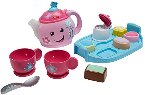 41qea6BEE0L - Fisher-Price Laugh & Learn Sweet Manners Tea Set