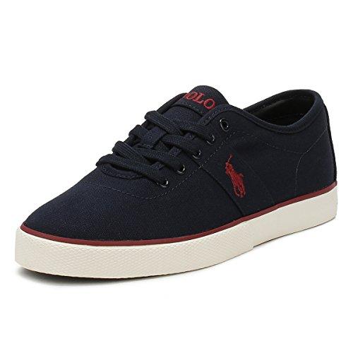 Ralph Lauren Sneakers Halford Blu (40)