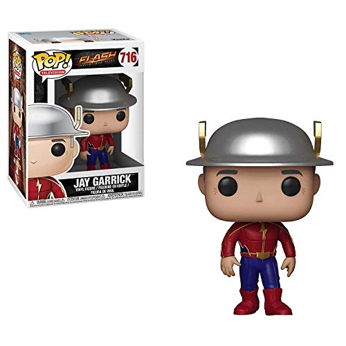 Funko Pop DC The Flash Jay Garrick, Multicolor, 33955
