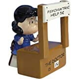 Westland Giftware Peanuts Magnetic Psychiatrist Lucy Salt and Pepper Shaker Set, 3-1/2-Inch