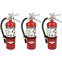 Amerex (3 Pack) B500, 5lb ABC Dry Chemical Class A B C Fire Extinguisher