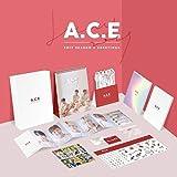 エイス - A.C.E 2019 SEASON'S GREETINGS Desk Calendar+Diary+Note+Photocards+Photo Stand+Folded Poster [韓国盤]
