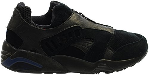 Puma Disc Zip French Heren In Black / Mazarine Blue Van Black / Mazarine Blue