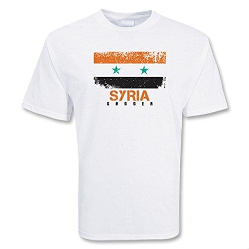 Syria Soccer T-shirt B0787WZKTBSmall (34-36\