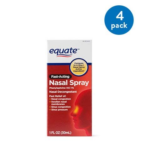 PACK OF 14 - Equate Fast Acting Nasal Spray, 1 fl oz by Equate