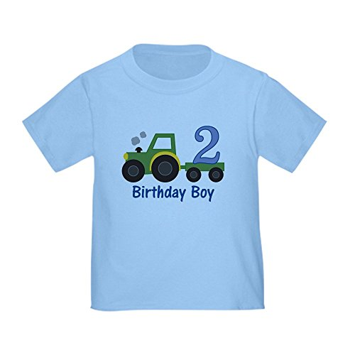 CafePress Birthday Tractor Toddler T Shirt