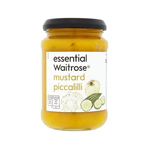 Mustard Piccalilli essential Waitrose 275g - Pack of 4