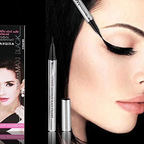 2021 Personality Women Eye Liner Eyeliner Quick Waterproof Charm Make Up Eyeliner Pen 3ml (Red)