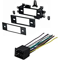 JEEP CHEROKEE COMANCHEE GRAND WAGONEER WRANGLER 1988 1989 1990 1991 1992 1993 1994 1995 1996 CAR STEREO RADIO DASH INSTALLATION MOUNTING KIT W/ WIRING HARNESS