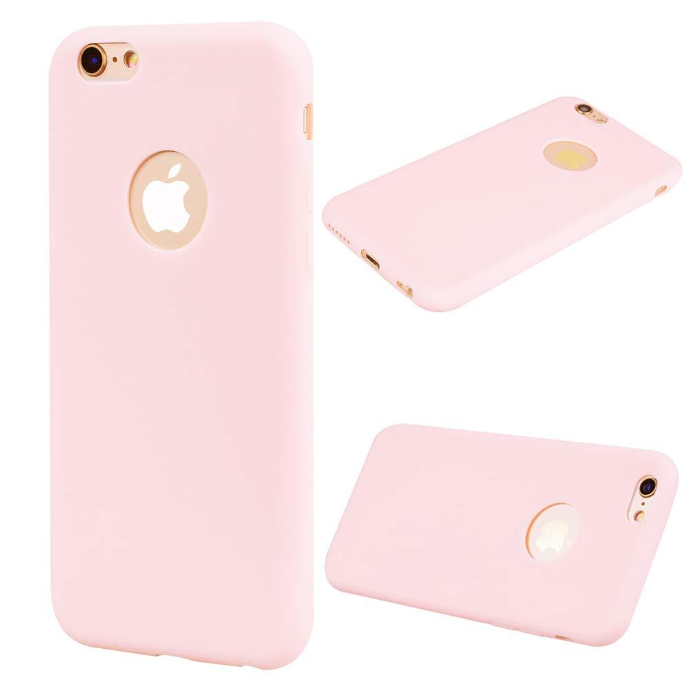 Bracciali Cover iPhone 6s Plus Silicone Rosa Verde Ultra Sottile ...