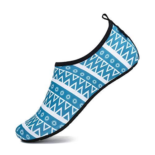 Mens Womens Quick Dry Barefoot Beach Socks Aqua Aerobics Swim Pool Surf Sailing Yoga Walking Gym Jogging Sports Water Shoes