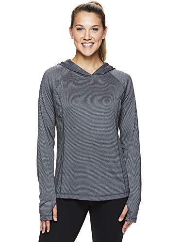 (HEAD Women's Lightweight Pullover Hoodie - Workout & Running Athletic Sweatshirt - Score Medium Grey, Medium)