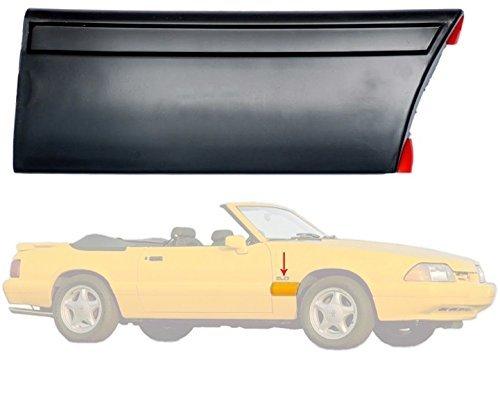 1987-93 Mustang LX Rear of Fender Body Molding - Right/Passenger Side