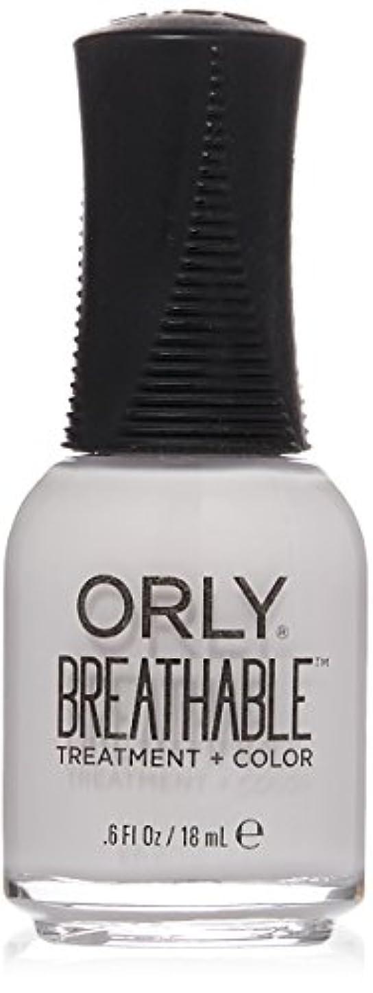 改修する知らせるシャーロットブロンテOrly Breathable Treatment + Color Nail Lacquer - Barely There - 0.6oz / 18ml